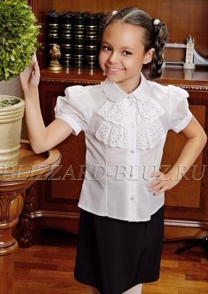 4c0fabc12d5fa Купить блузки для школы для девочек